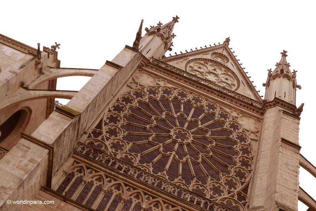 Rose Window on Main Facade - Saint-Denis