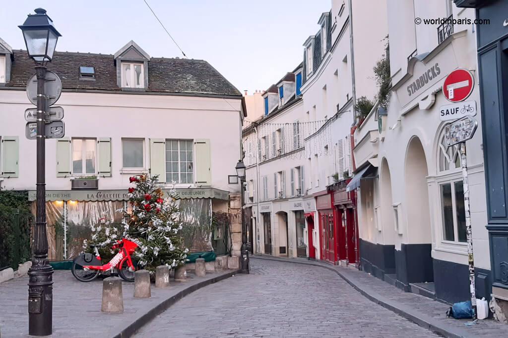 Rue Novins - Montmartre