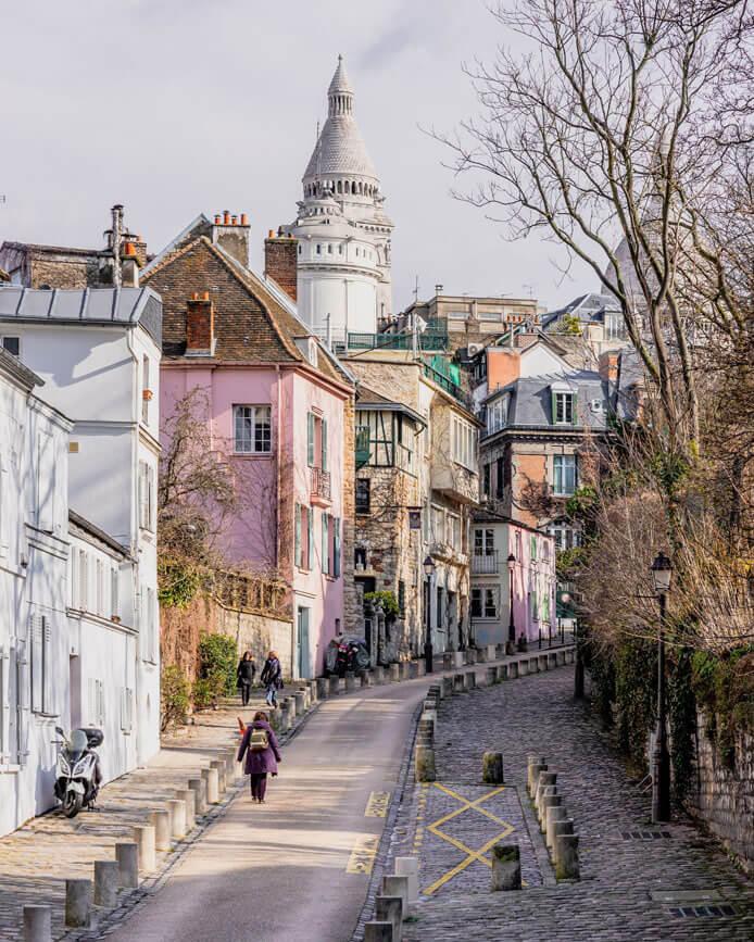 Rue de l'Abrevoir - Montmartre