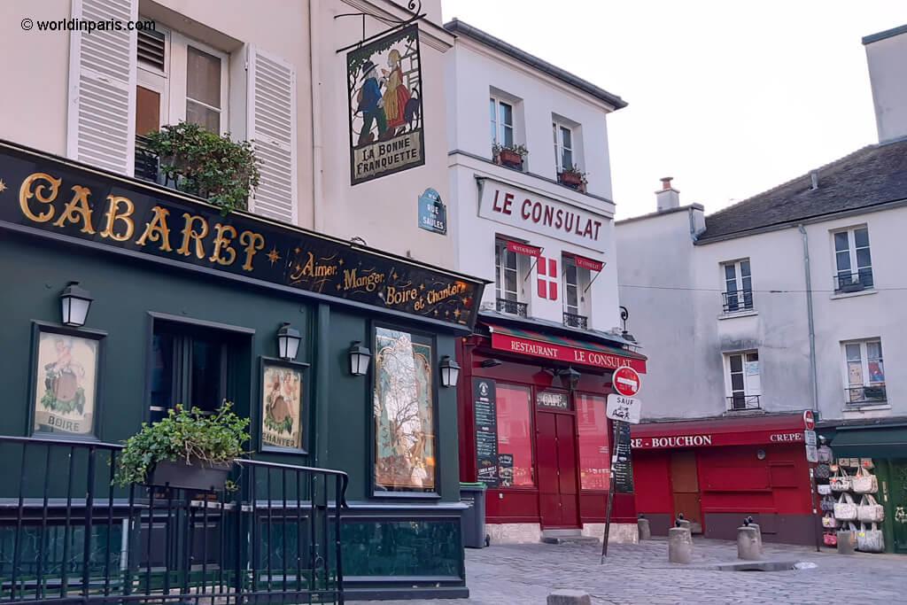 Rue des Saules - Le Consulat