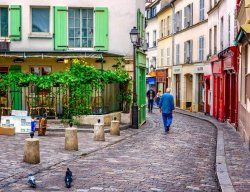 Street of Montmartre - Paris
