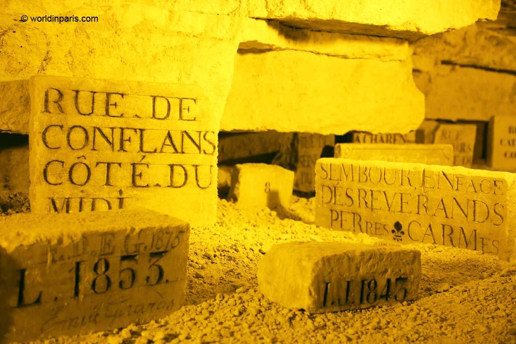Underground Street Names - Carrières des Capucins