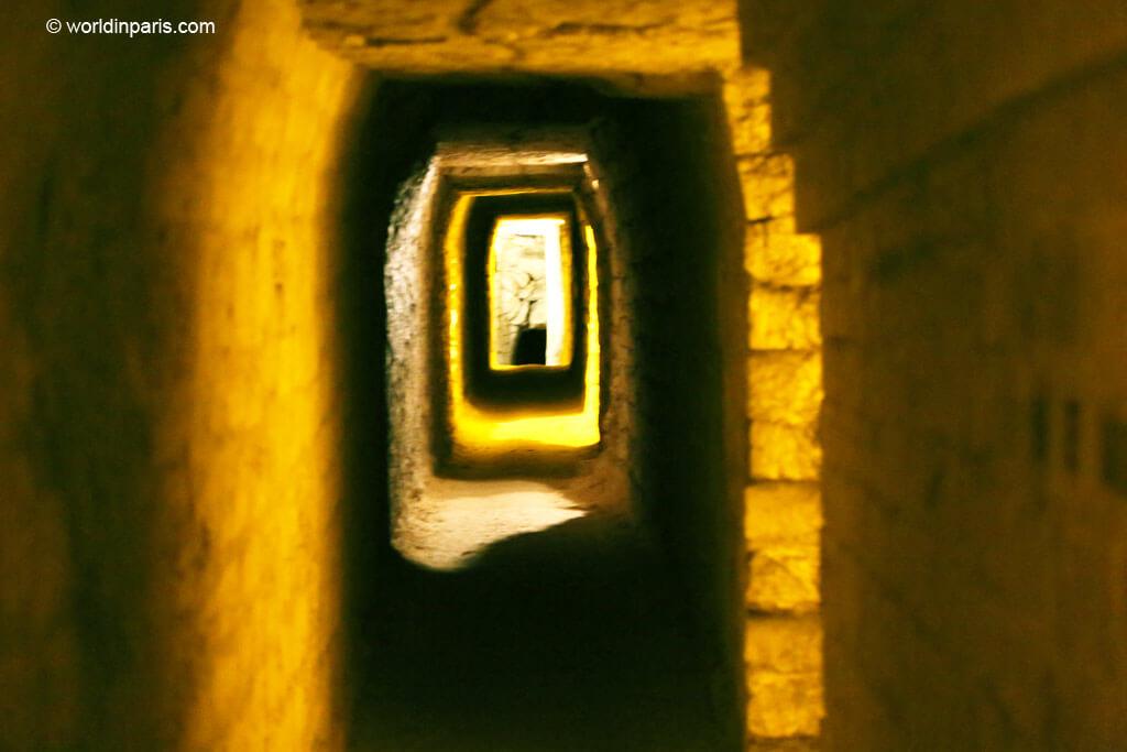 Carrières des Capucins Tunnels