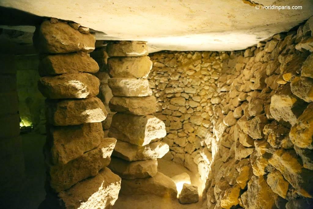 Vaulted Rooms - Carrières des Capucins