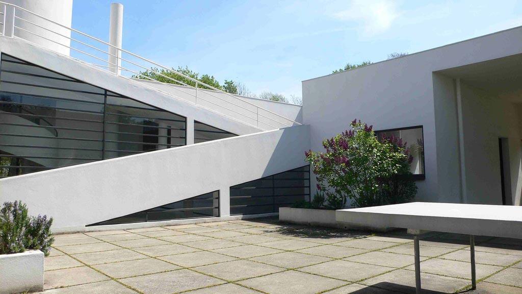 Villa Savoye Roof Garden
