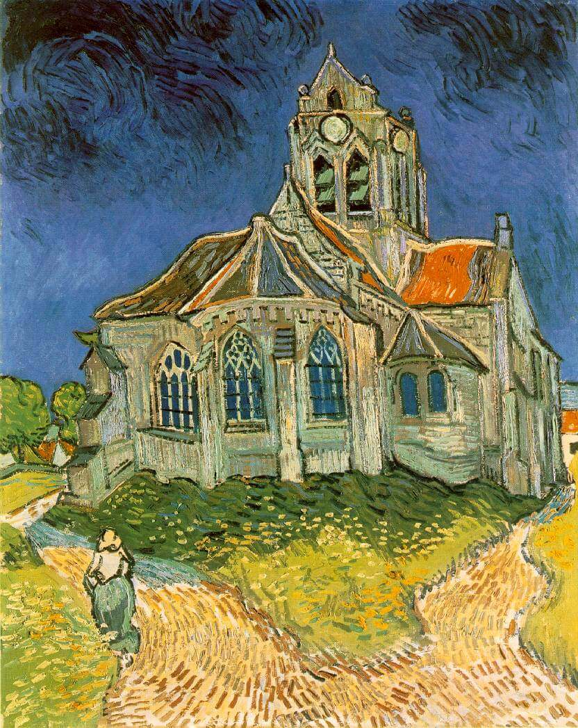 Auvers Church - Van Gogh