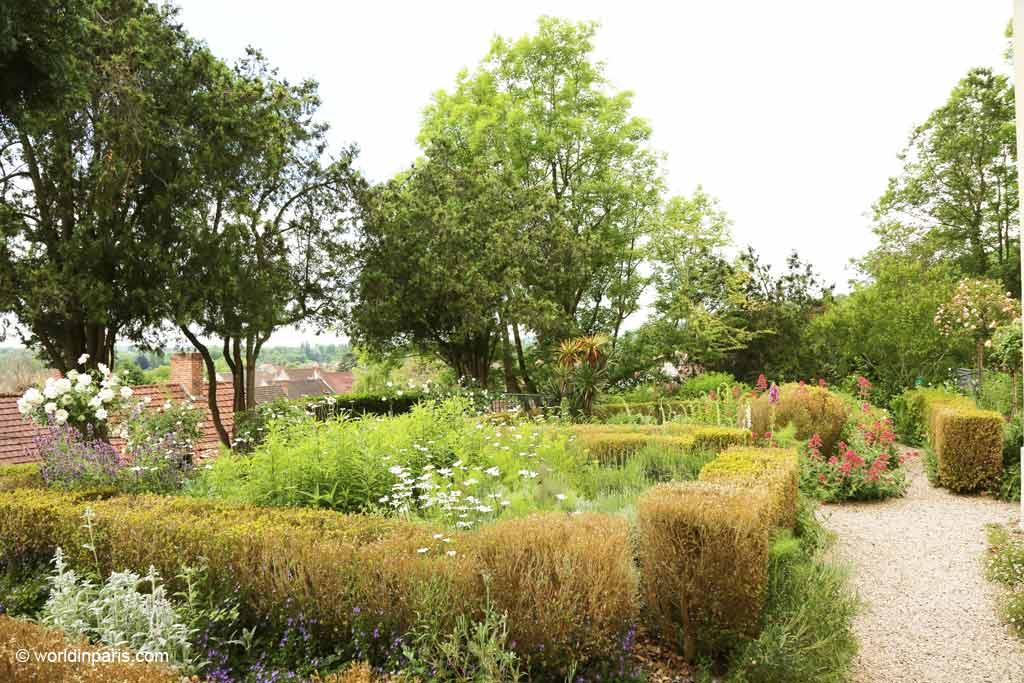 Dr Gachet's Garden today - Auvers-sur-Oise