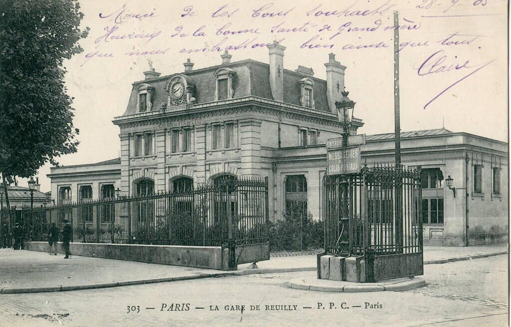 Gare de Reuilly - Paris