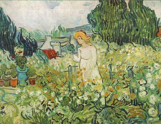 Mme Gachet in the Garden - Vincent Van Gogh