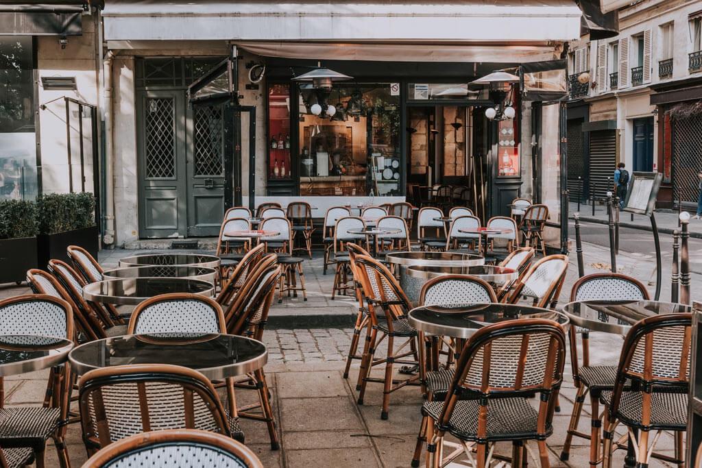 Париж Кафе