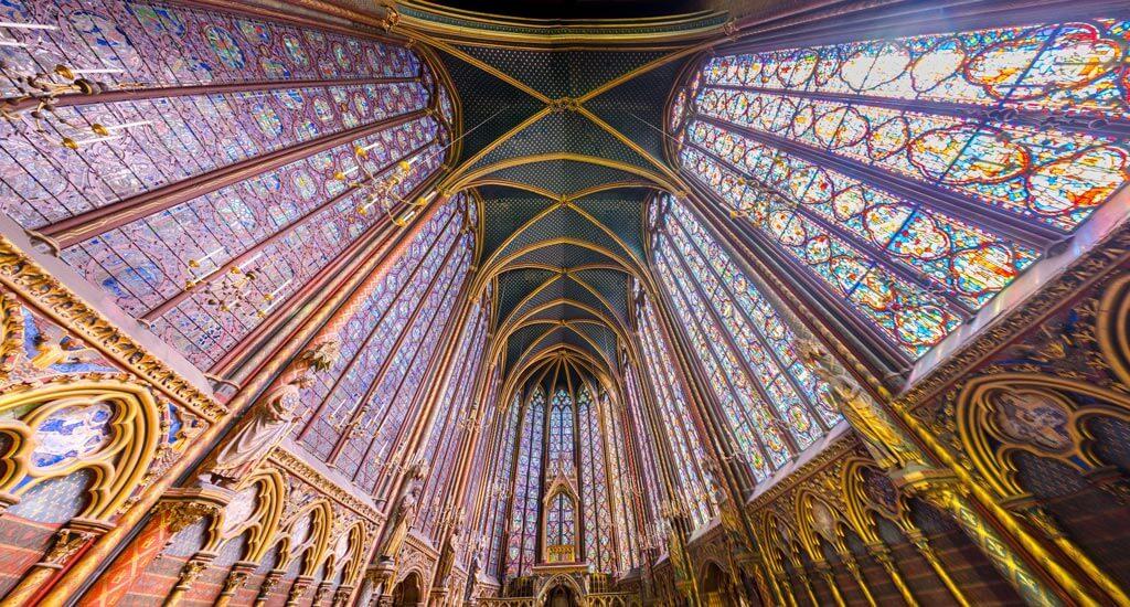 Сент-Шапель в Париж