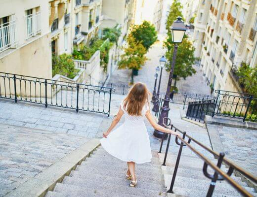 Stairs of Montmartre - Paris