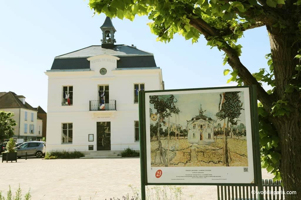 Town hall - Auvers-sur-Oise