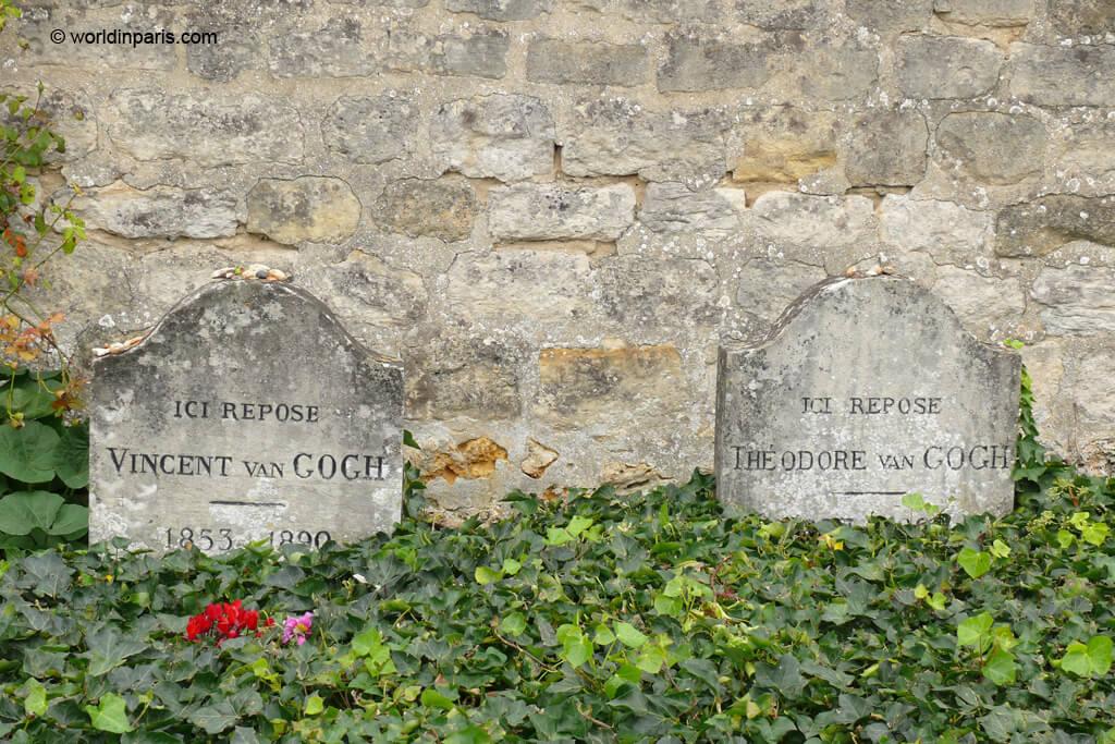 Van Gogh's tomb - Auvers-sur-Oise