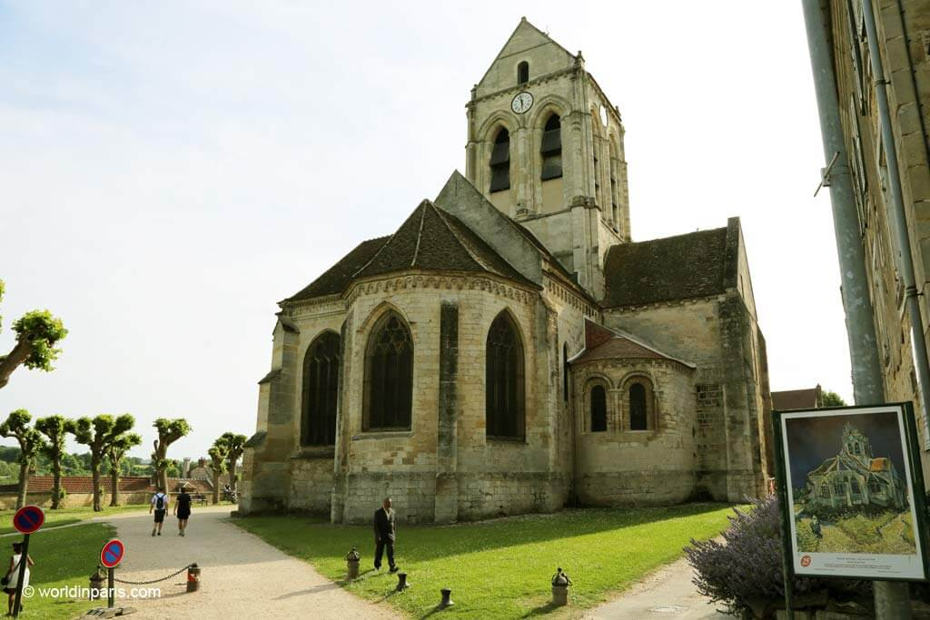 Van Gogh's church at Auvers