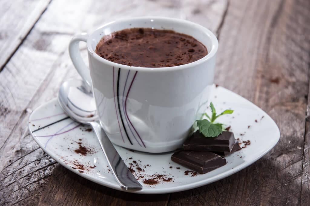 шоколадный чауд - Париж