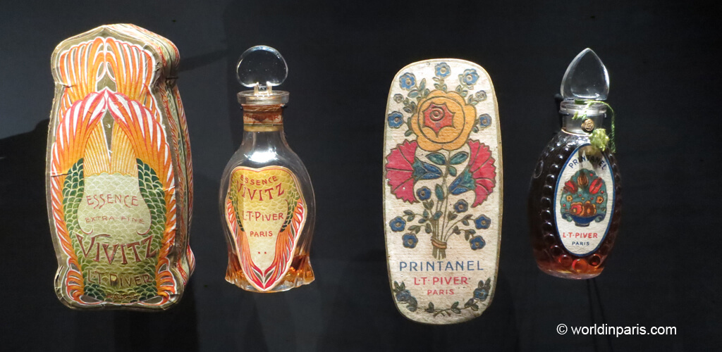 Fragonard's historic perfume bottles