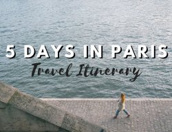 5 Days in Paris Itinerary