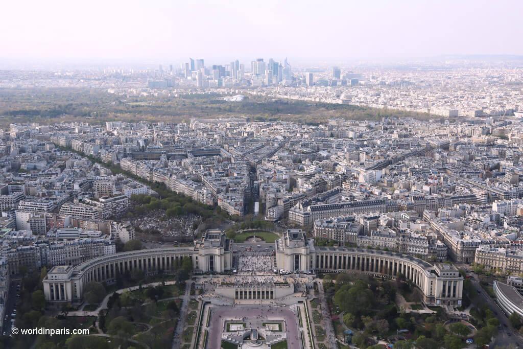 Eiffel Tower - View over Trocadéro