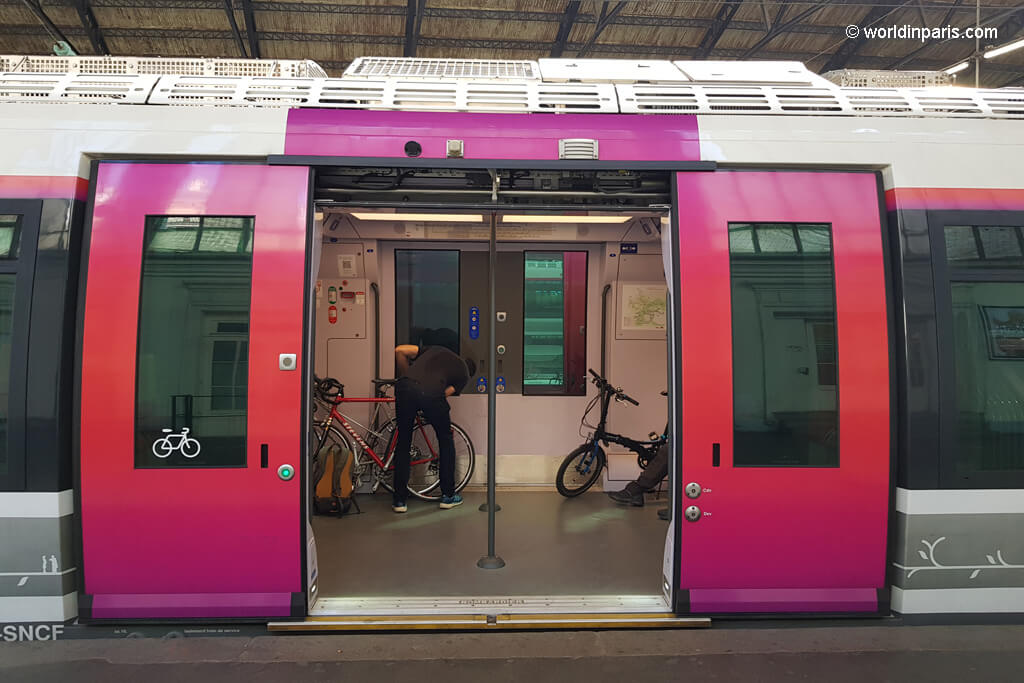 SNCF Trains for bikes