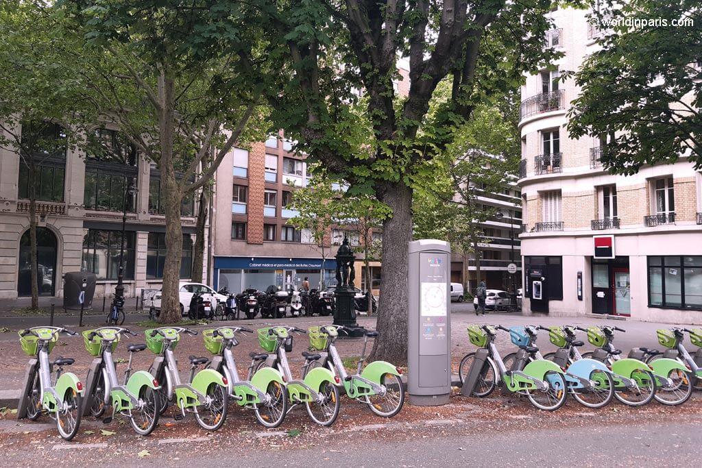Velib in Paris