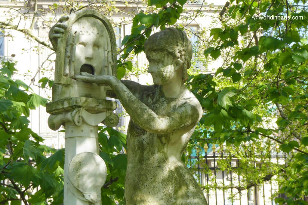 Bocca della Verita - Luxembourg Gardens