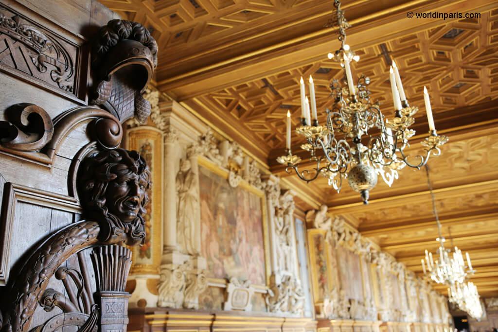 Château de Fontainebleau inside