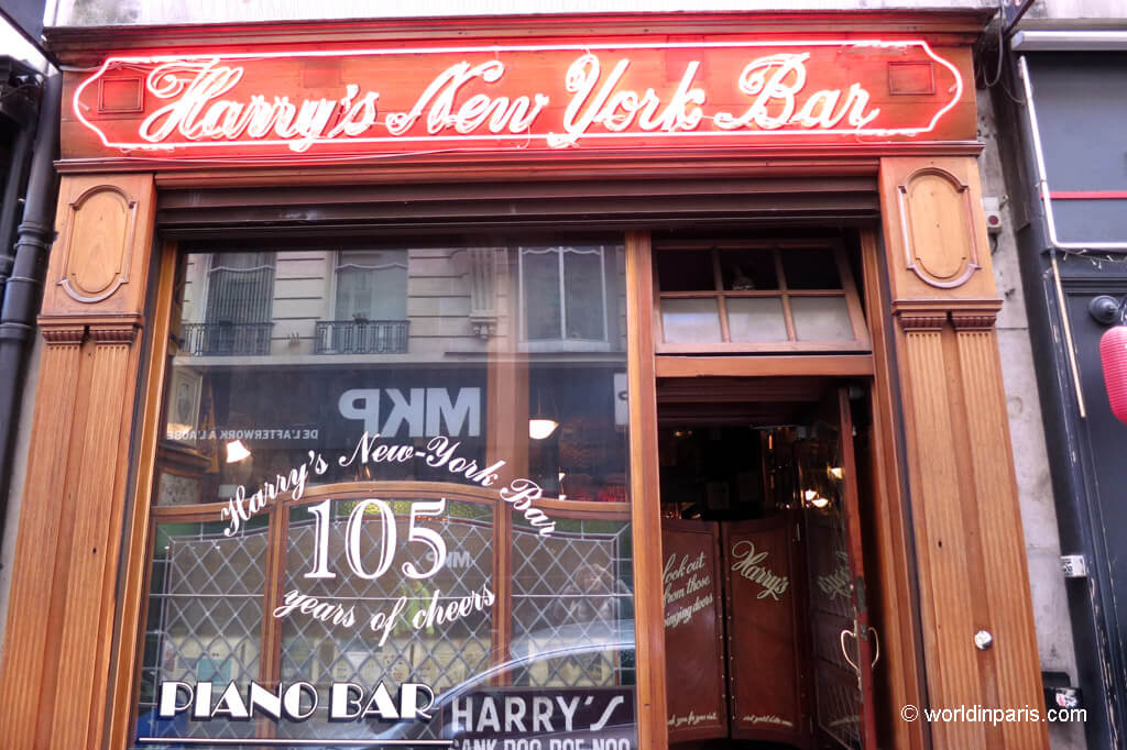 Harry's New York Bar - Paris