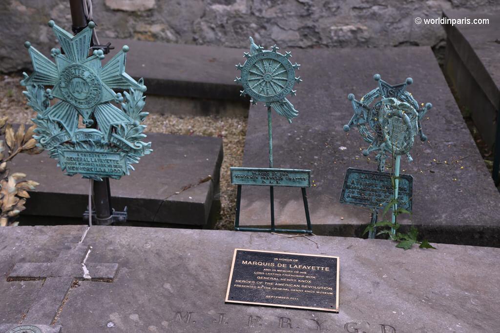 Lafayette Grave Detail - Picpus Cemetery