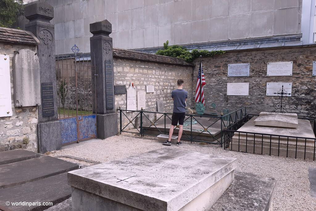Lafayette Grave - Cimitière Picpus