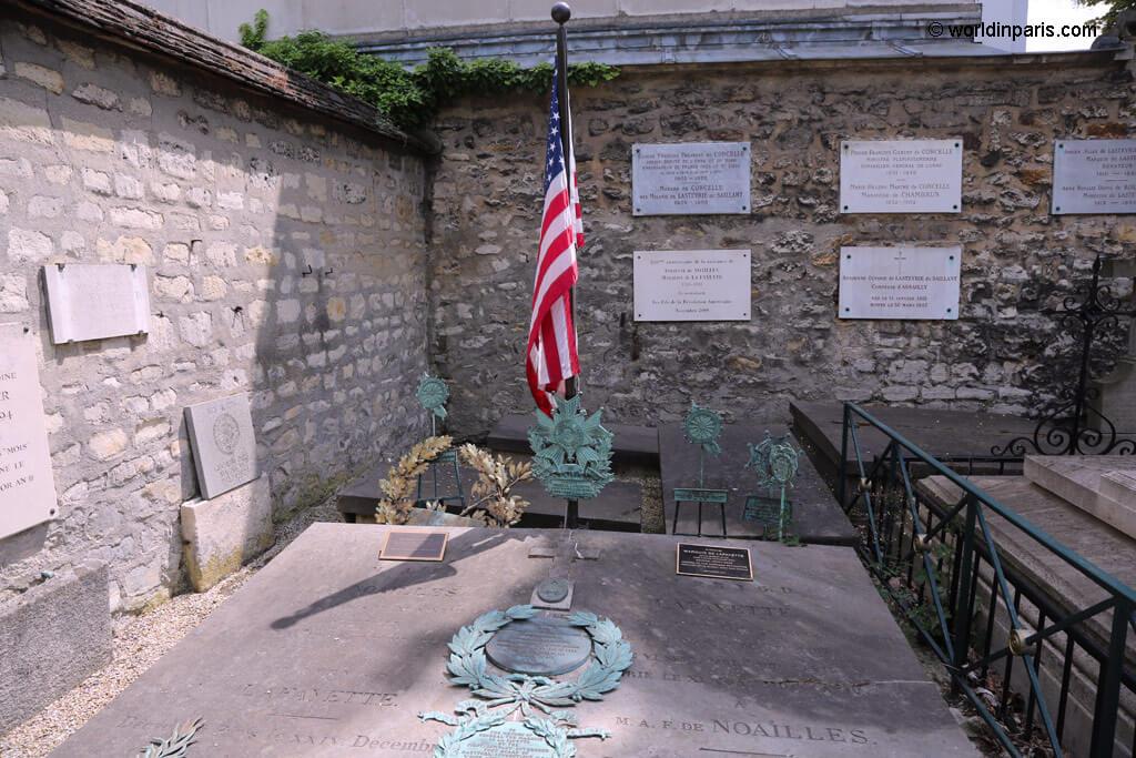 Lafayette Grave - Picpus Cemetery