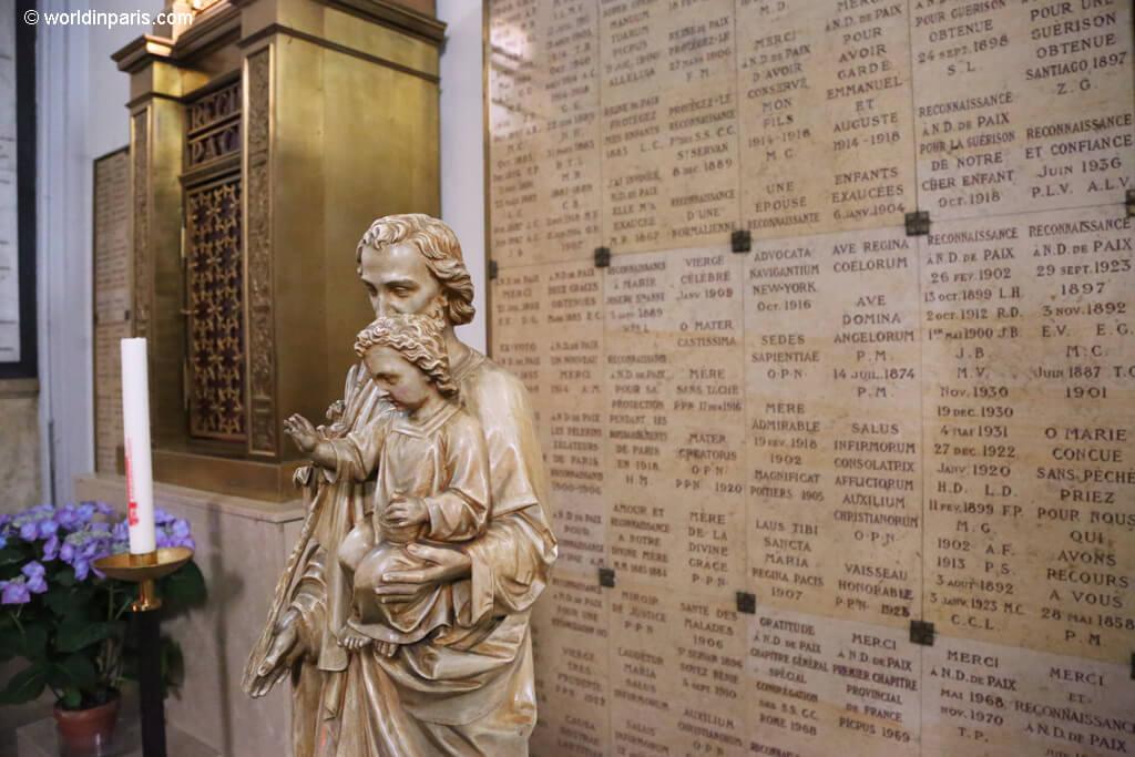 Notre Dame de la Paix - Ex Votos
