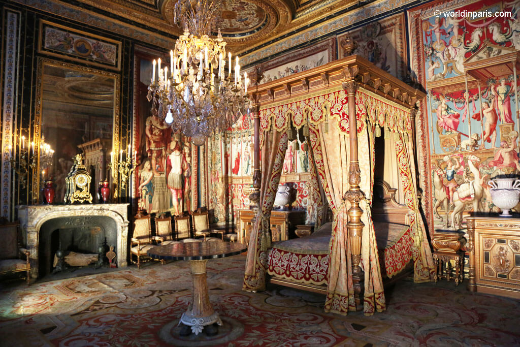 Queen's Apartments - Fontainebleau Castle