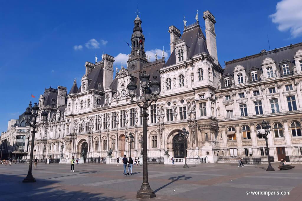 Hôtel de Ville-Paris