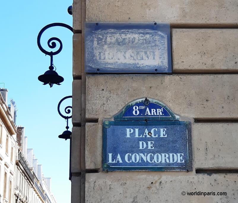 Place Louis XVI - Place Concode