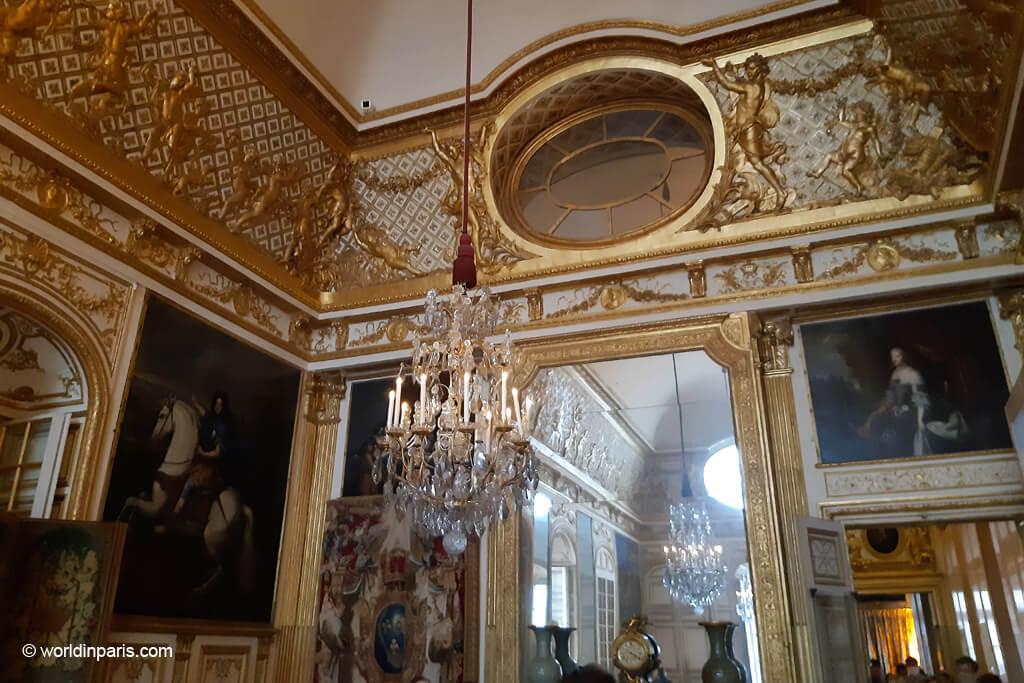 Bull's Eye Room - Versailles