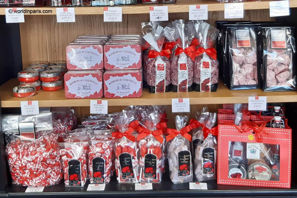 Coquelicot sweets - Moret-sur-Loing