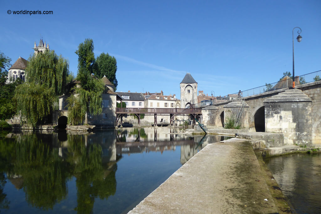 Moret-sur-Loing - View from Watermill