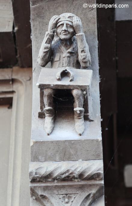 House detail - Moret-sur-Loing