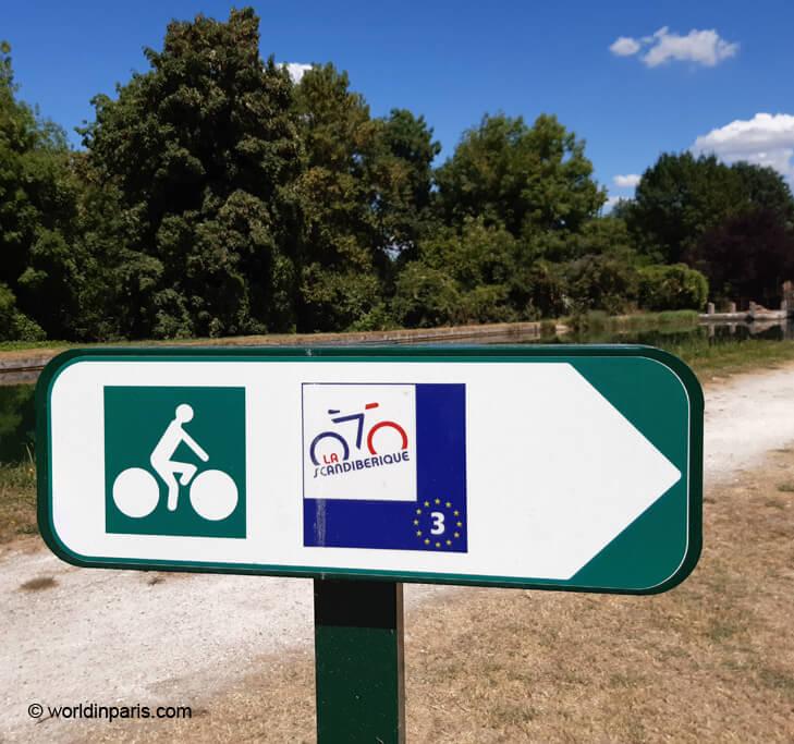 Scandiberique bike route