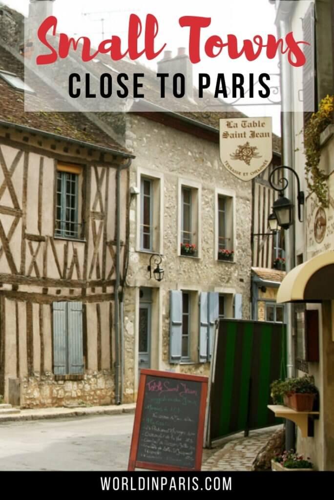 small towns near Paris
