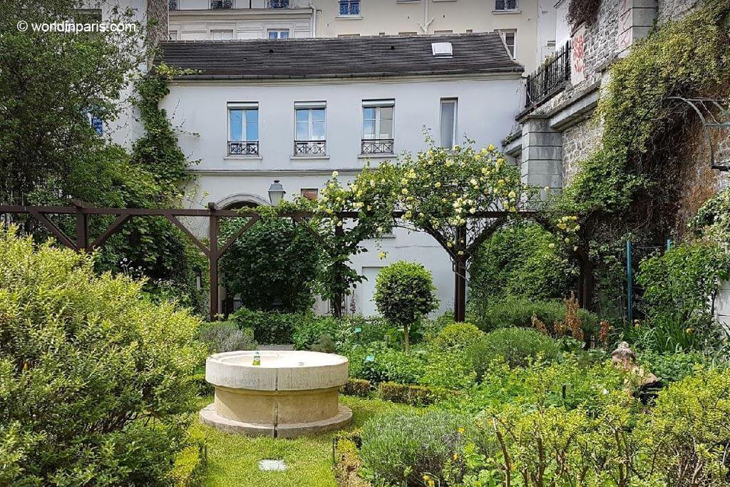 Jardins des Abbesses Montmartre