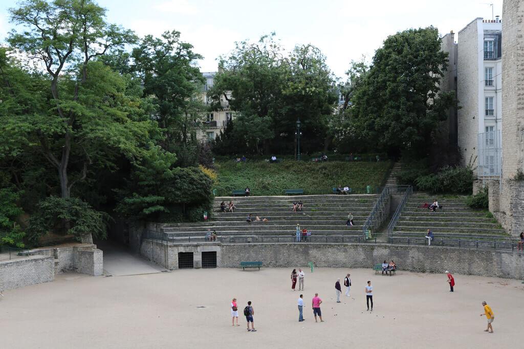 Arenes de Lutece - Paris