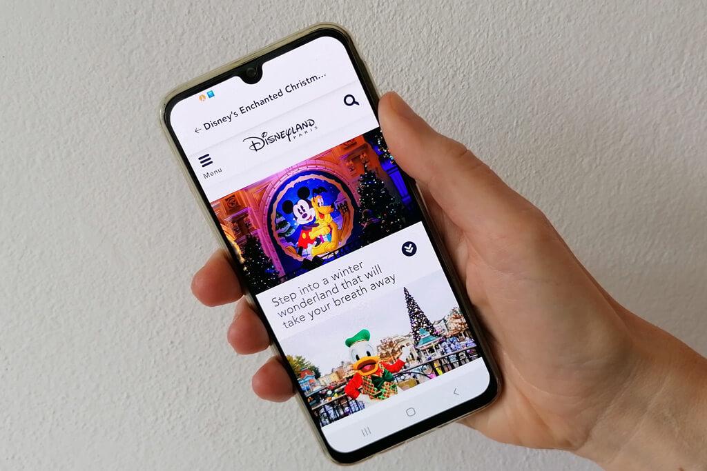 Disneyland Paris Application