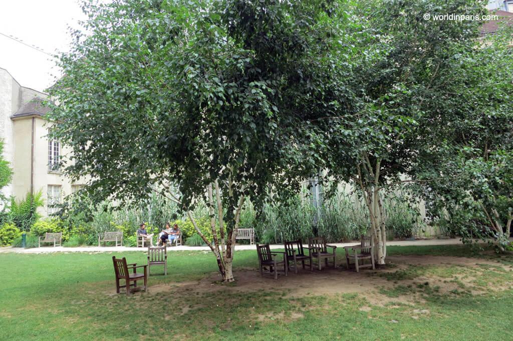 Jardin des Rosiers - Paris