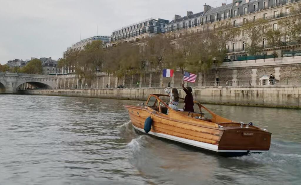 Seine Cruise - Emily in Paris