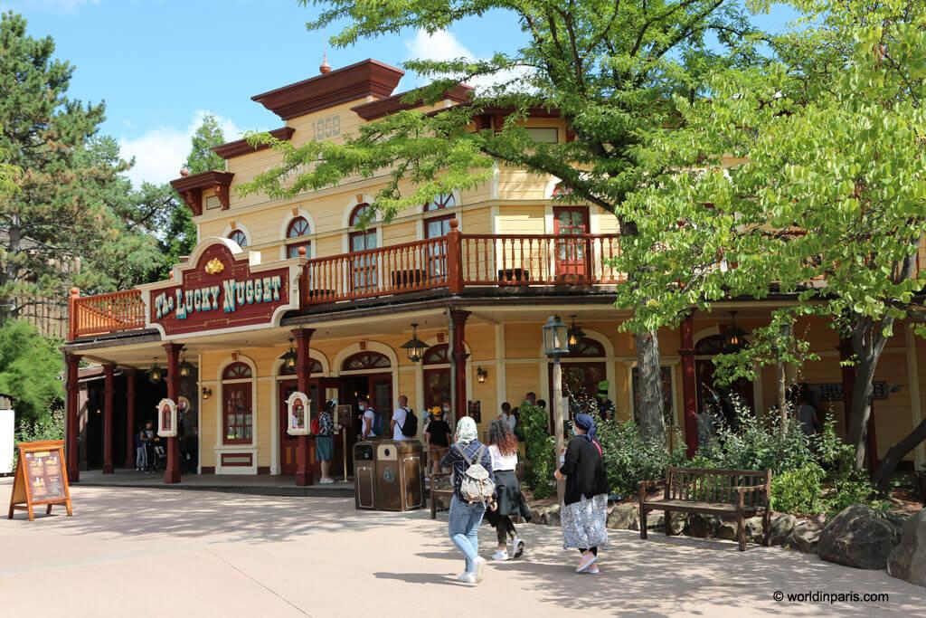 Lucky Nugget Restaurant in Disneyland Paris