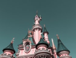 Disneyland Castle - Paris