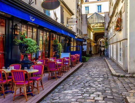 Cour du Commerce-Saint-Andre - Paris