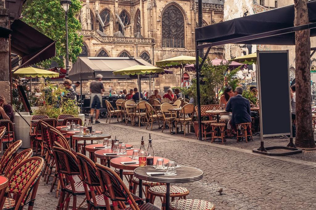 Parisian Cafes - Paris